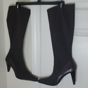 A.Marinelli Pointed Heel Boots
